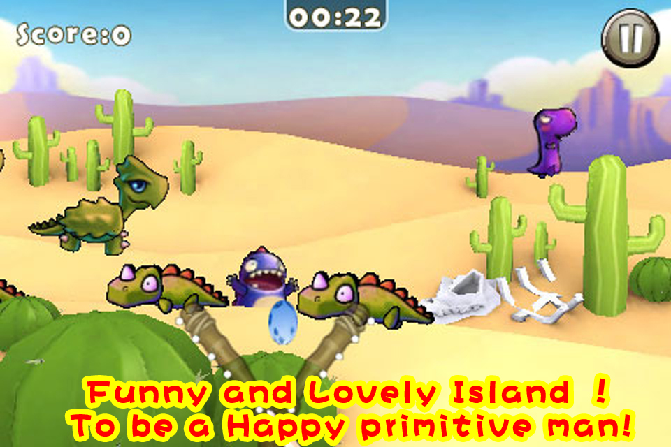 Screenshot Dino Island